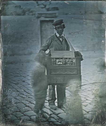 Organ Grinder ca. 1848. Gabriel Cromer Collection
