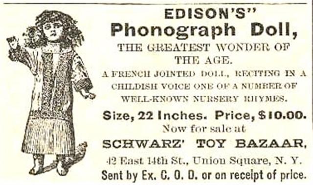 Thomas-Edison-talking-dolls Ad
